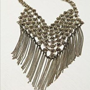 Chainmail Fringe Necklace